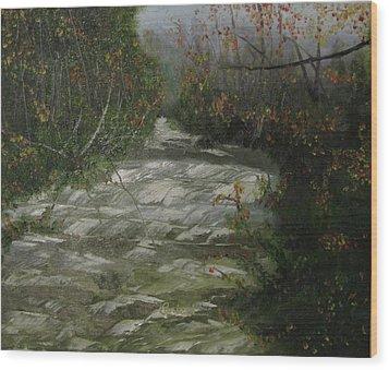 Peavine Creek Wood Print