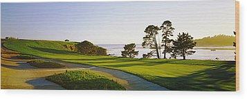 Pebble Beach Golf Course, Pebble Beach Wood Print