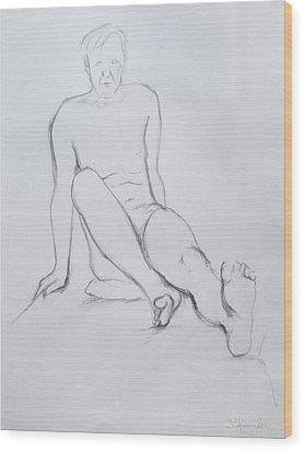 Pencil Sketch 2.2011 Wood Print