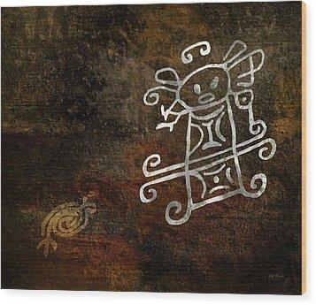 Petroglyph 1 Wood Print