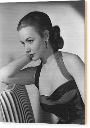 Piper Laurie, 1954 Wood Print by Everett