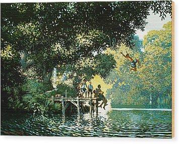 Pointe Pleasant Wood Print