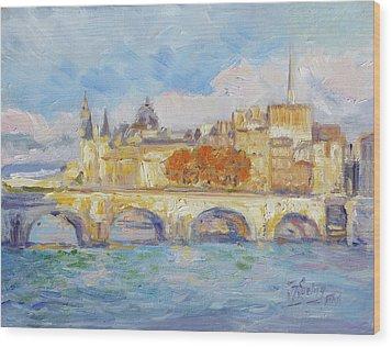 Pont Neuf, Paris Wood Print