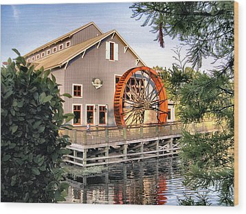 Port Orleans Riverside Iv Wood Print
