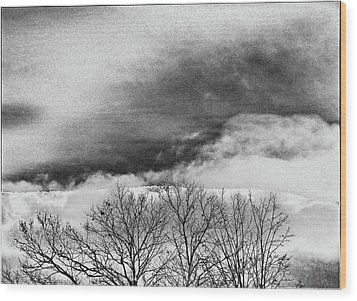 Wood Print featuring the photograph Prelude by Steven Huszar