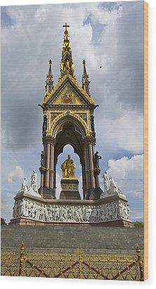 Prince Albert Memorial Statue  Wood Print