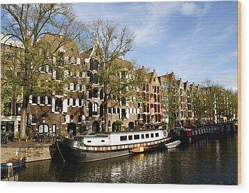 Prinsengracht Wood Print