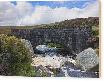 Ps I Love You Bridge In Ireland Wood Print by Semmick Photo