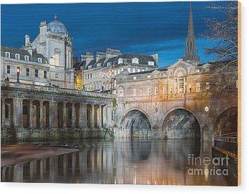 Pulteney Bridge, Bath Wood Print