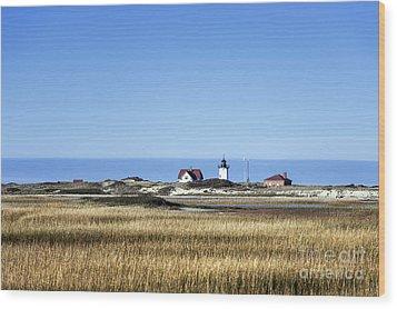 Race Point Lighthouse Wood Print by John Greim
