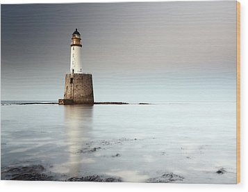 Rattray Head Lighthouse  Wood Print by Grant Glendinning