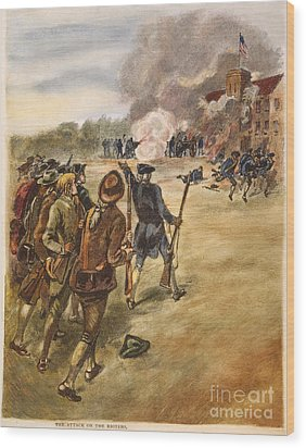 Rebels: Arsenal, 1787 Wood Print by Granger