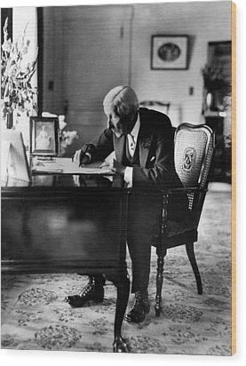 Rockefeller, John D. Sr Wood Print by Everett