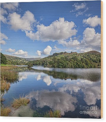 Wood Print featuring the photograph Rydal Water, English Lake District by Colin and Linda McKie