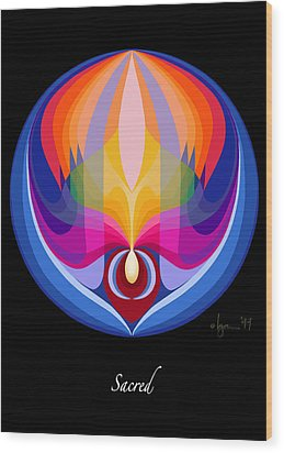 Sacred Wood Print by Angela Treat Lyon