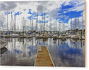 Safe Harbor Wood Print