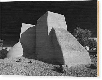 San Francisco De Asis Church Wood Print
