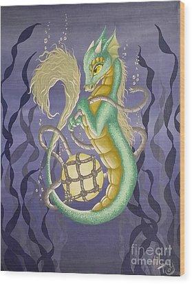 Sea Dragon II Wood Print