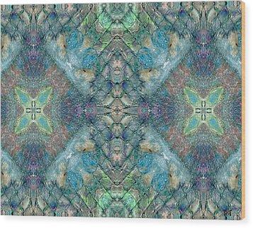 Seascape II Wood Print by Maria Watt