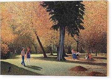 Season Of Abundance And Joy Wood Print by Neil Woodward