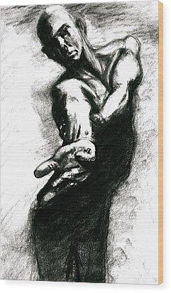 Shadow Dancer Wood Print by Dan Earle