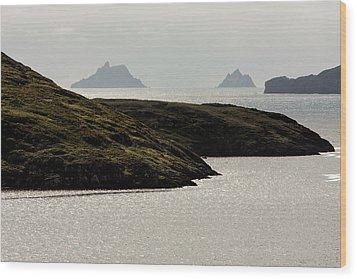 Skellig Islands, County Kerry, Ireland Wood Print