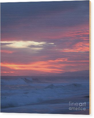 Wood Print featuring the photograph Soft Sunset by Michelle Wiarda