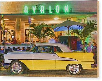 South Beach Classic Wood Print by Dennis Cox WorldViews