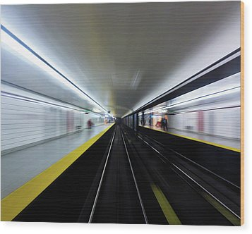Wood Print featuring the photograph Speed 3 by Brian Carson