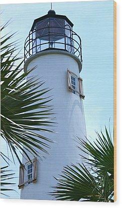 St. George Island Lighthouse Wood Print