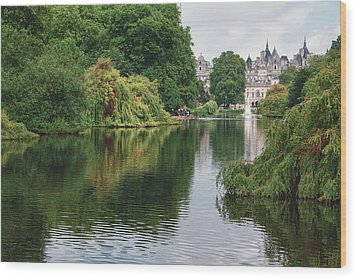 St James Park Wood Print
