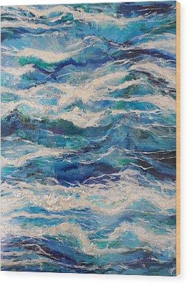 Suite Madam Blue Wood Print