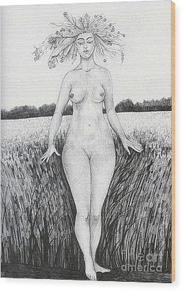 Summer Wood Print by Anna  Duyunova