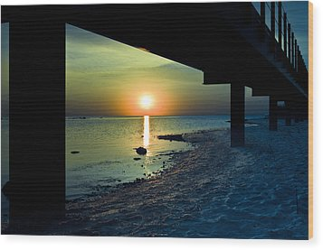 Wood Print featuring the photograph Summer Glow by Jason Naudi Photography