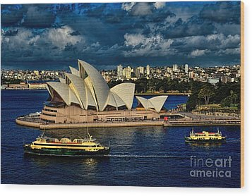 Sydney Opera House Australia Wood Print