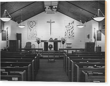 Wood Print featuring the photograph The Altar by Monte Stevens