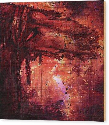 The Beloved Wood Print by Rachel Christine Nowicki