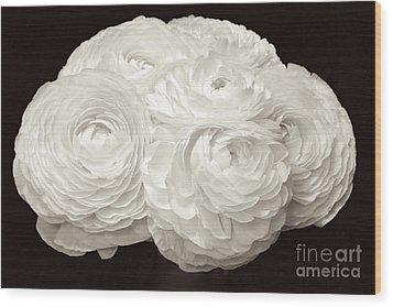 The Brides Bouquet Wood Print