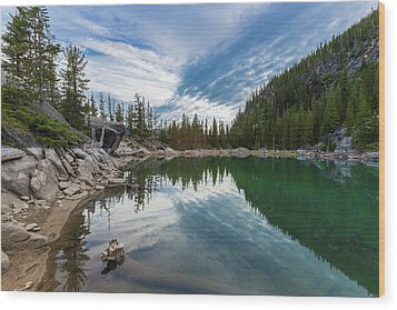 The Enchantments Wood Print