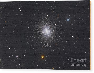 The Great Globular Cluster In Hercules Wood Print by Roth Ritter