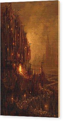 The Hive Wood Print by Philip Straub