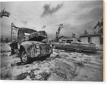 The Last Tow Wood Print