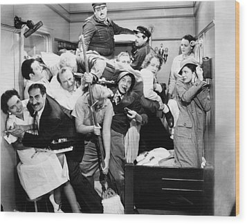 The Marx Brothers, 1935 Wood Print by Granger