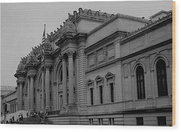 The Metropolitan Museum Of Art Wood Print