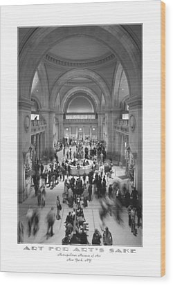 The Metropolitan Museum Of Art Wood Print by Mike McGlothlen