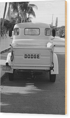 The Old Dodge  Wood Print by Rob Hans