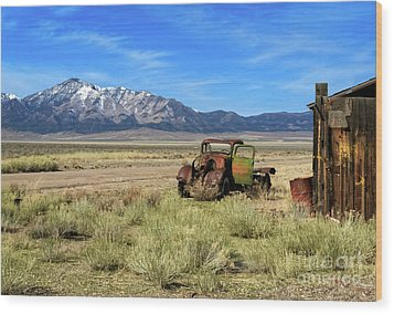 Wood Print featuring the photograph The Old One by Robert Bales