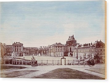 The Palace Of Versailles. C. 1880 Wood Print by Everett