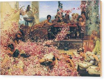 The Roses Of Heliogabalus Wood Print by Sumit Mehndiratta