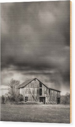 The Smell Of Rain Wood Print by JC Findley